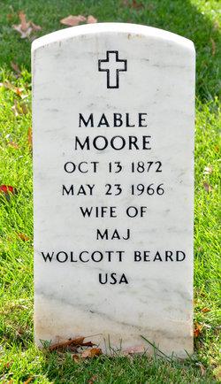 Mable <i>Moore</i> Beard
