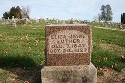 Eliza Jane <i>Dimmick</i> Luther