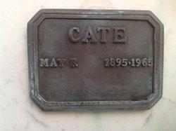 Julia May Malcomb <i>Fellows</i> Cate