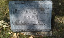 Barbara <i>Davery</i> Brown