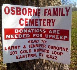 Osborne Family Cemetery #2