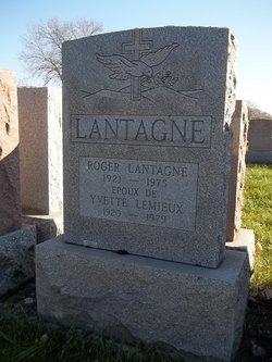 Yvette <i>Lemieux</i> Lantagne