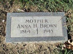 Anna H Brown