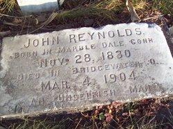 John Allen <i>Coggeshill</i> Reynolds
