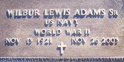 Wilbur Lewis Adams, Sr