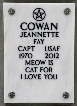 Jeannette Fay Cowan