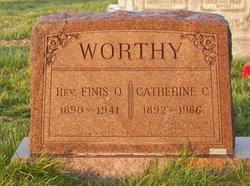 Catherine C. <i>Daub</i> Worthy