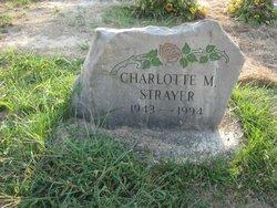 Charlotte M Strayer
