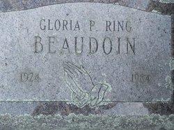 Gloria P <i>Ring</i> Beaudoin