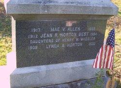 Mae V <i>Wheeler</i> Allen