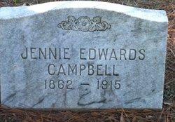 Honora Jane Jennie <i>Edwards</i> Campbell