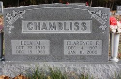 Lela M. <i>Owens</i> Chambliss