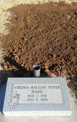Virginia N. Jeanie <i>Ratzliff</i> Puffer