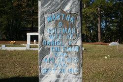 Martha O. <i>Matthews</i> Coleman