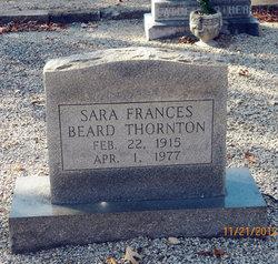 Sarah Frances <i>Beard</i> Thornton