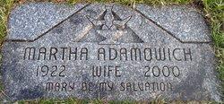 Martha <i>Vetter</i> Adamowich