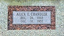 Alick E Chandler