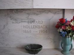 Edward Burl Ed Hollenback