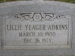 Lillie <i>Yeager</i> Adkins