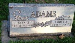 Emma Belle <i>Pierce</i> Adams
