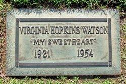 Virginia <i>Hopkins</i> Watson