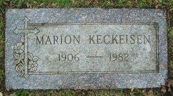 Marion Elizabeth <i>Bapst</i> Keckeisen
