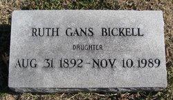 Ruth <i>Gans</i> Bickell