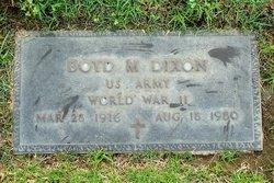 Boyd Marcus Dixon