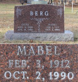 Mabel <i>Thompson</i> Berg