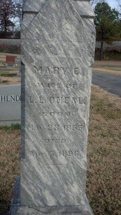 Mary Eleanor Mattie <i>Smith</i> O'Neal