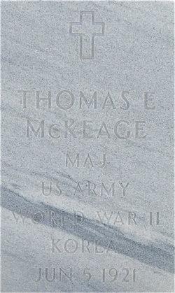 Thomas E McKeage