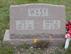 Horace M West