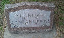 Ralph I Butterfield