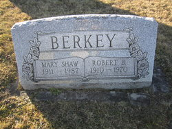 Mary Elizabeth <i>Shaw</i> Berkey