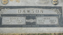 Eunice M <i>Young</i> Dawson