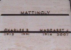 Margaret Jean <i>Jordan</i> Mattingly