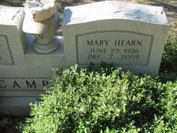 Mary <i>Hearn</i> Campbell
