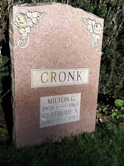 Milton George Cronk