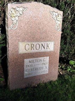 Gertrude Ann <i>Baldaro</i> Cronk