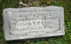 Mary A <i>Stelle</i> Dunning