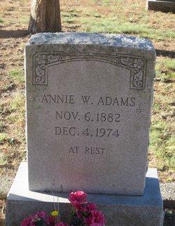 Annie W Adams