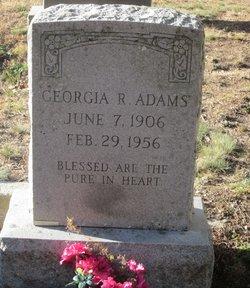 Georgia R Adams