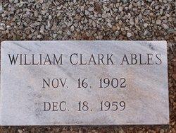 William Clark Ables