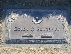 Golda Cordelia <i>Rozzell</i> Bradshaw