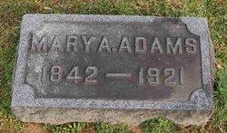 Mary A <i>Fargo</i> Adams