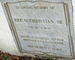 Eric O. Mr. Eric Christian, Sr