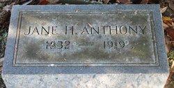 Jane H Anthony