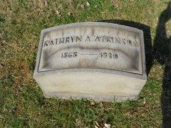 Kathryn A Atkinson