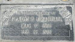 Gladys B Crandall