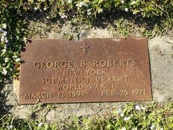 George B Roberts